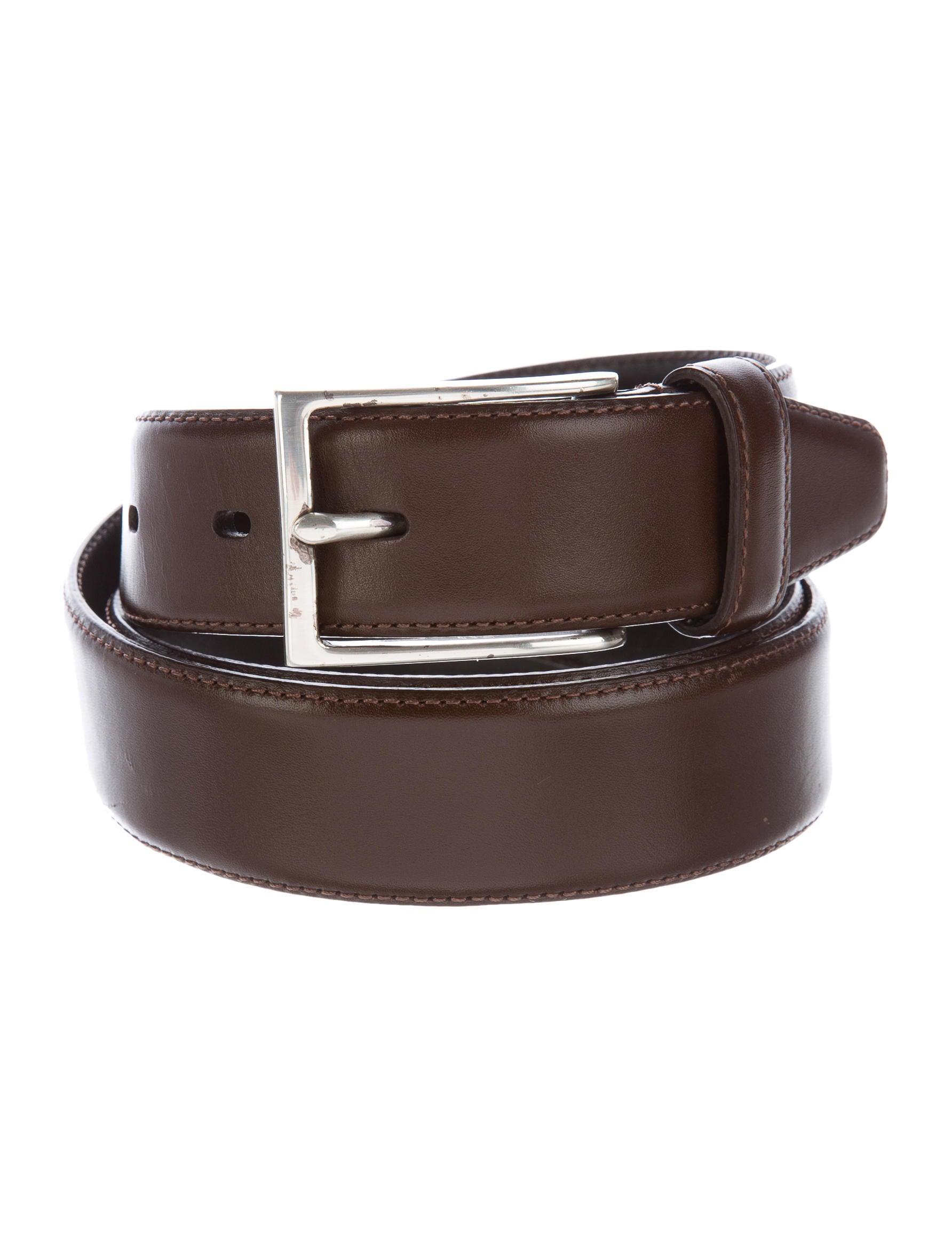 varvatos leather dress belt accessories jva23614
