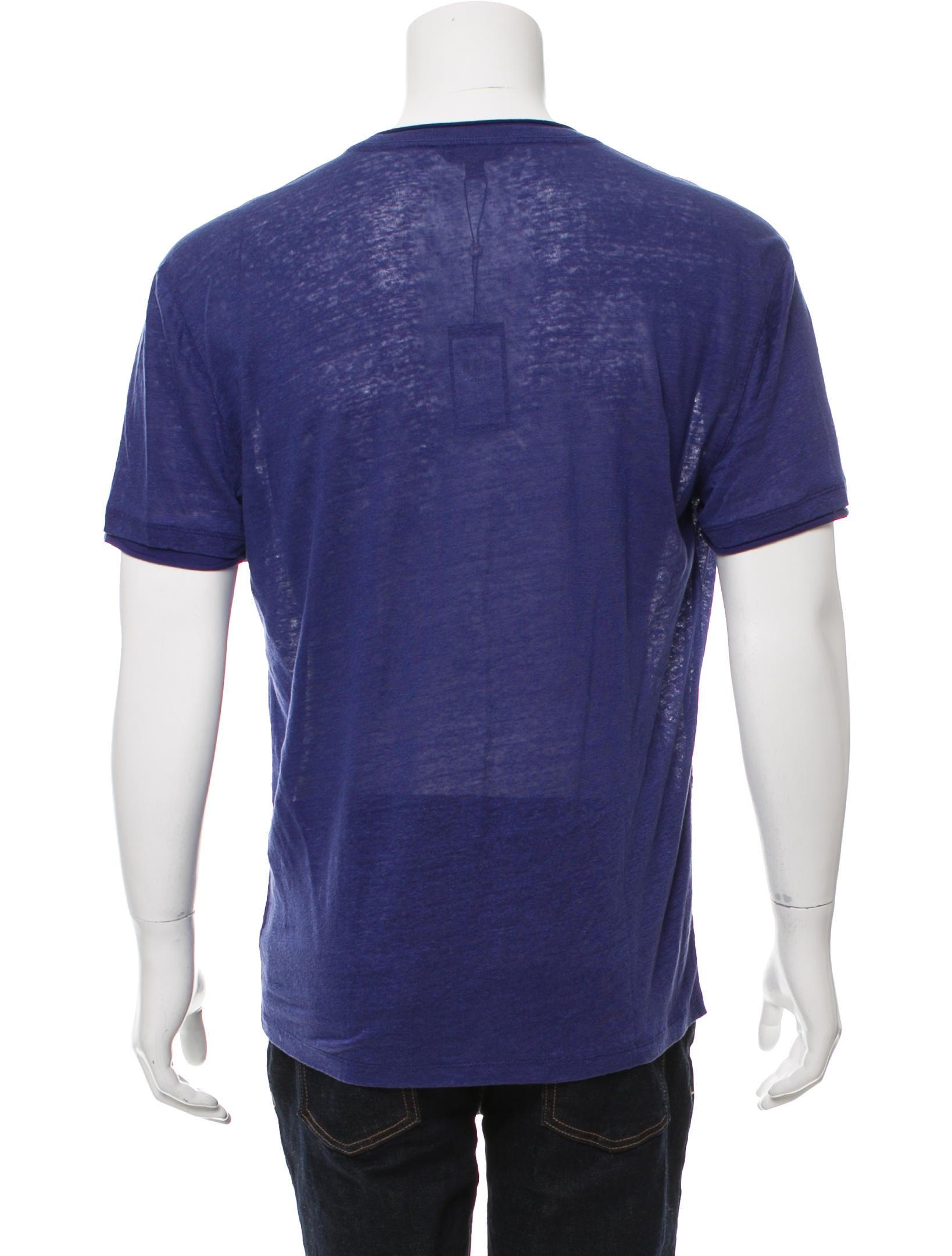 John varvatos short sleeve linen t shirt w tags for Short sleeve linen shirt