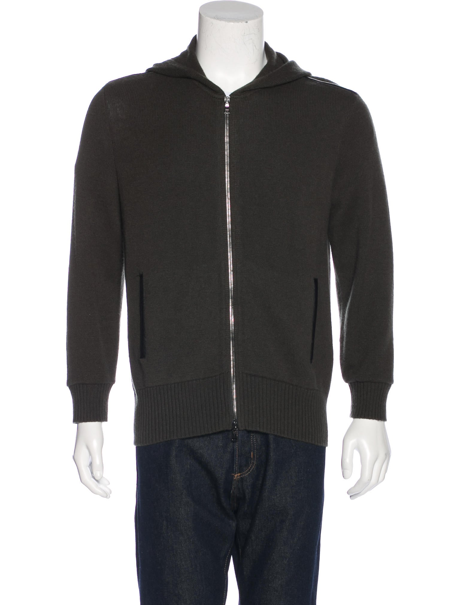 SMALL LEATHER GOODS SMALL LEATHER GOODS Tailored from a comfortable technical jersey, this iconic zip-up travel hoodie features a metallic LV Circle medallion for a discrete branded signature. See more See less Please, select a size. Size XS XS.