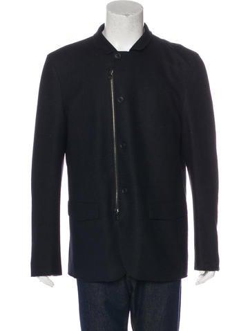 John Varvatos 2015 Wool Jacket None