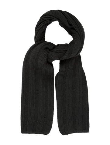 John Varvatos Rib Knit Wool Stole None