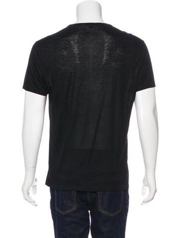 Knit Scoop Neck T-Shirt