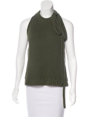 J.W. Anderson Sleeveless Knit Sweater w/ Tags None