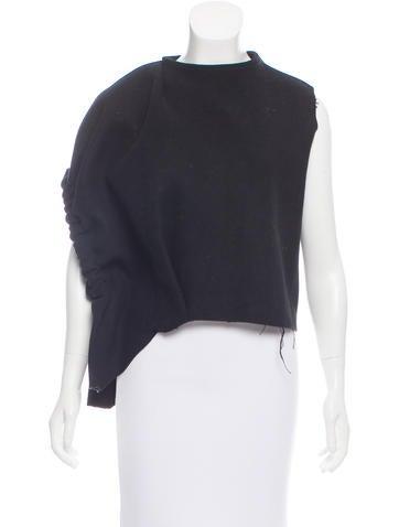 J.W. Anderson Asymmetrical Wool Top None