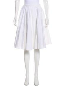 J.W. Anderson Pleated Knee-Length Skirt