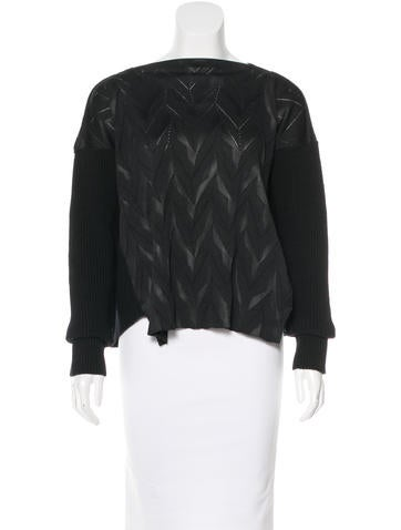 Junya Watanabe Comme des Garçons Wool Textured Sweater None