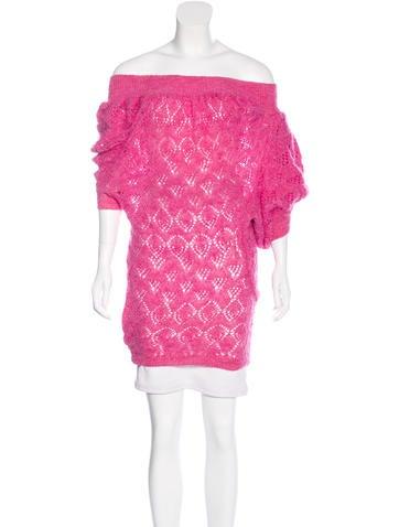 Junya Watanabe Comme des Garçons Mohair Crochet Sweater None
