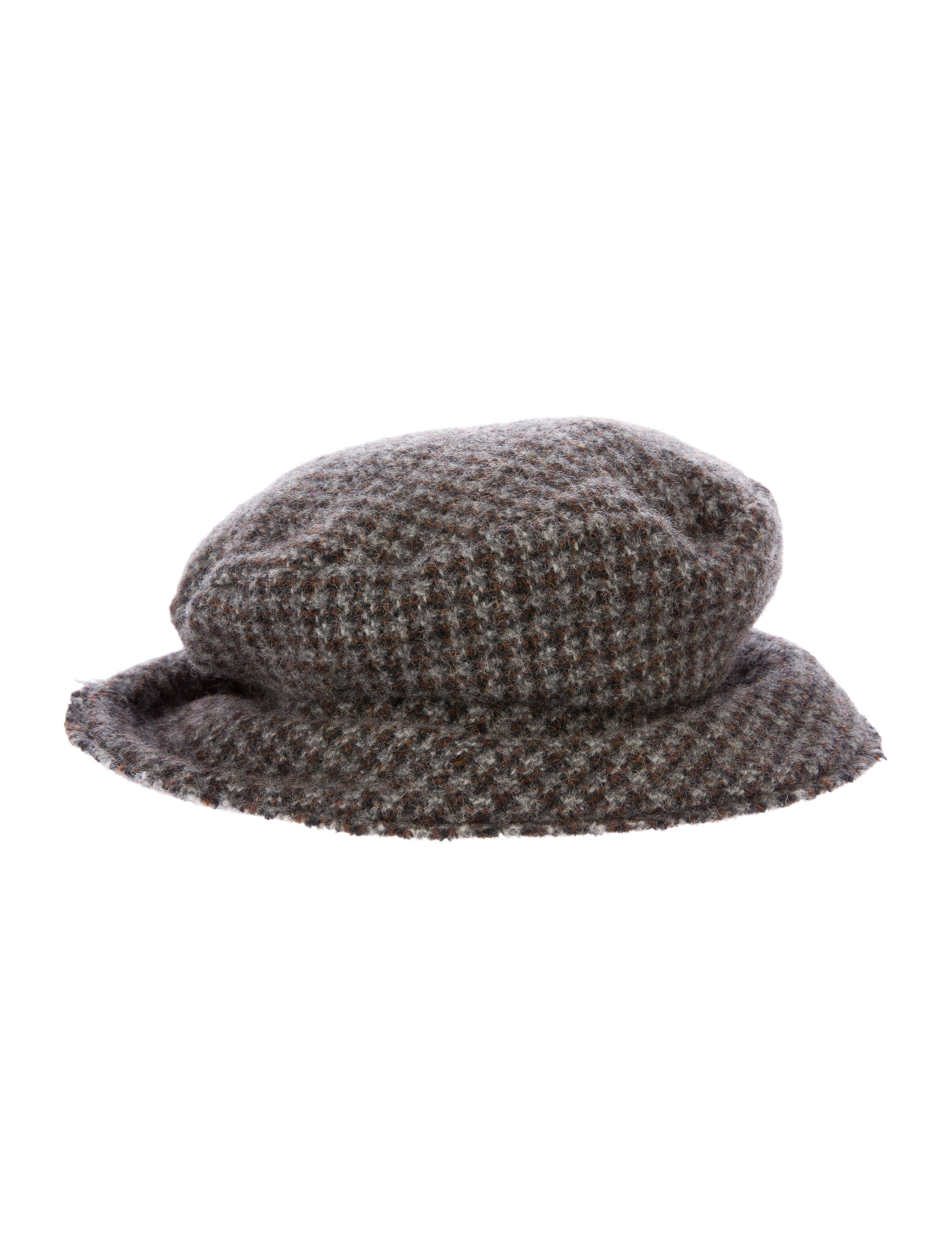 Junya Watanabe Comme des Garçons Houndstooth Bucket Hat ... 3b75f7e1721