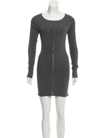 Junya Watanabe Comme des Garçons Wool-Blend Sweater Dress None