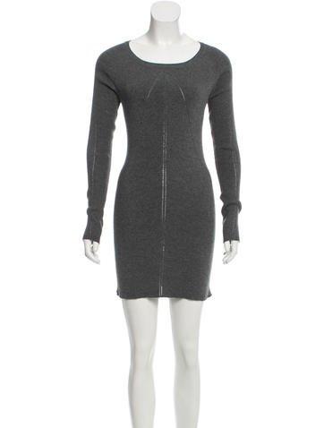 Junya Watanabe Comme des Garçons Wool-Blend Sweater Dress None