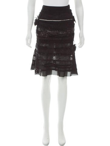 Junya Watanabe Comme des Garçons Embellished Paneled Skirt None