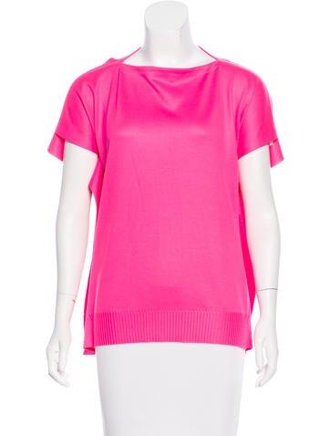 Junya Watanabe Comme des Garçons Knit Short Sleeve Top None