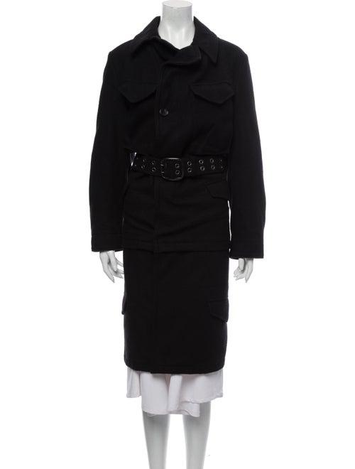 Junya Watanabe Comme des Garçons Trench Coat Black