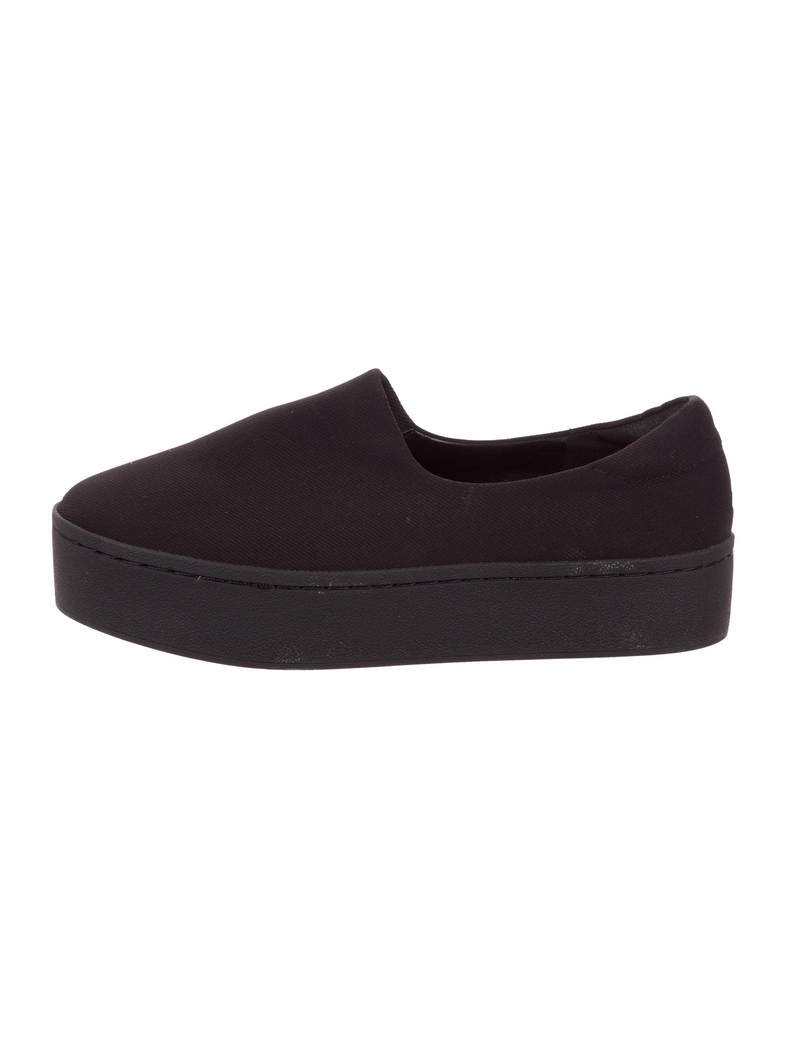 karl lagerfeld platform slip on sneakers shoes