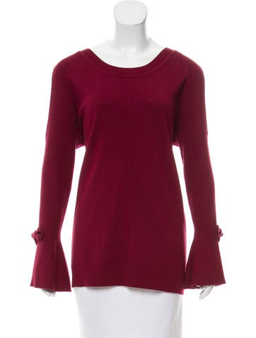 Karl Lagerfeld Cold Shoulder Knit Sweater w/ Tags None