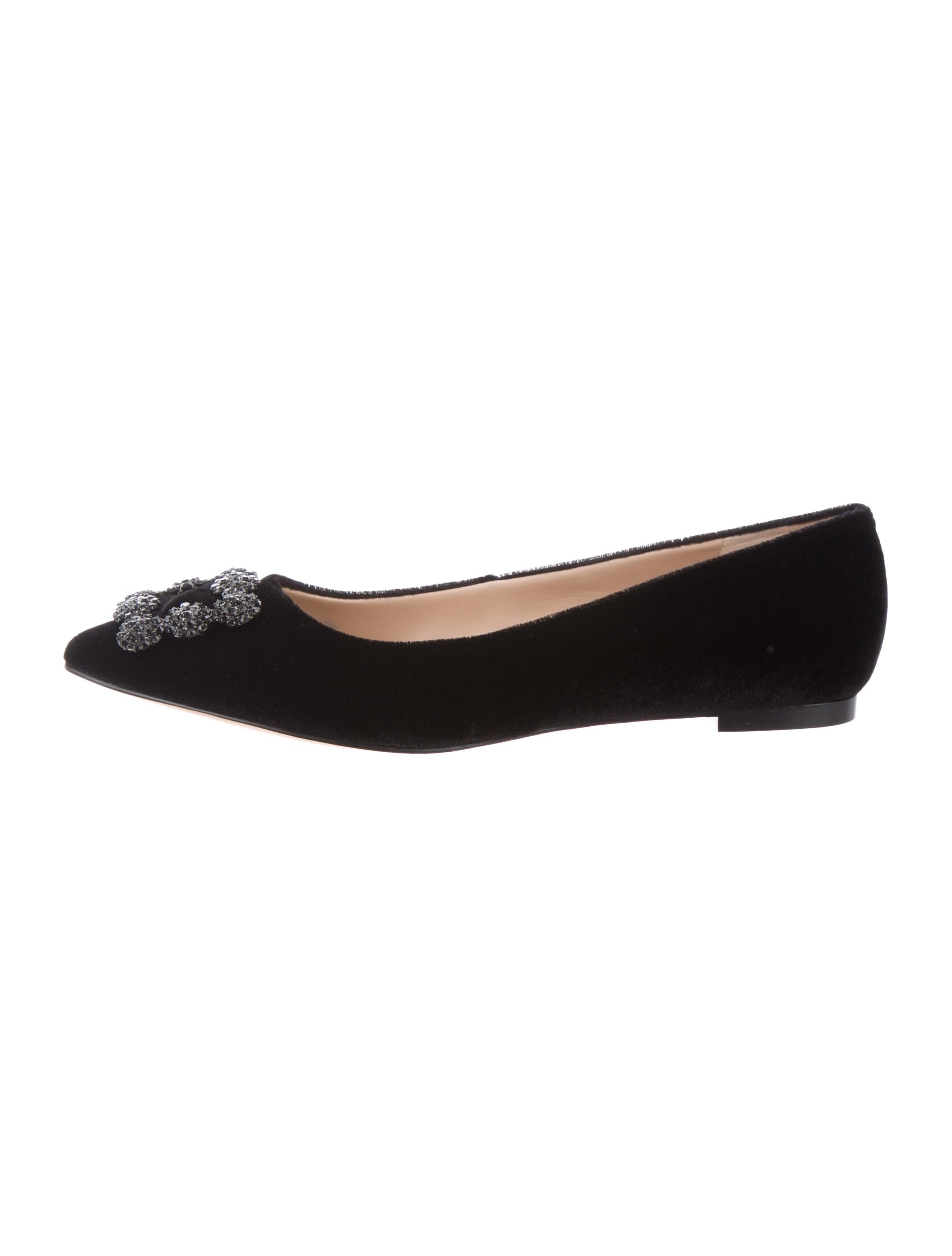 66c333e64704 Karl Lagerfeld Nara Velvet Flats w  Tags - Shoes - KAL20716