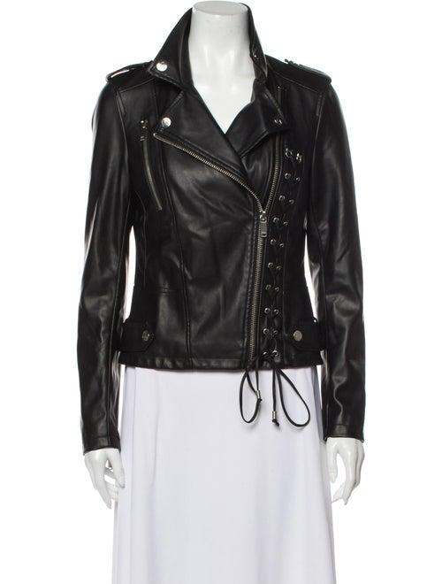 Karl Lagerfeld Biker Jacket Black