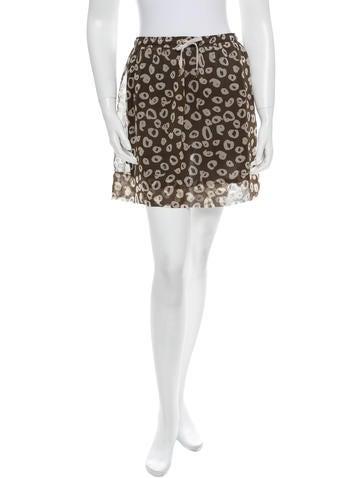 Karen Walker Silk Skirt