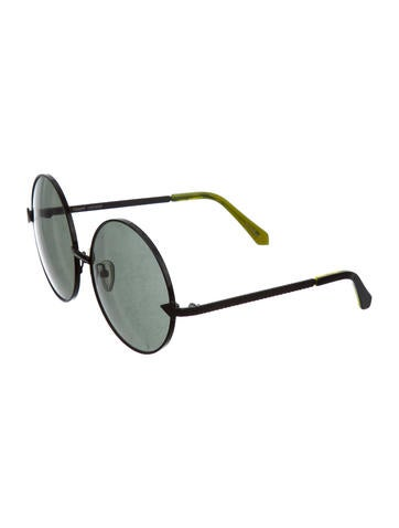 Oversized Circular Sunglasses