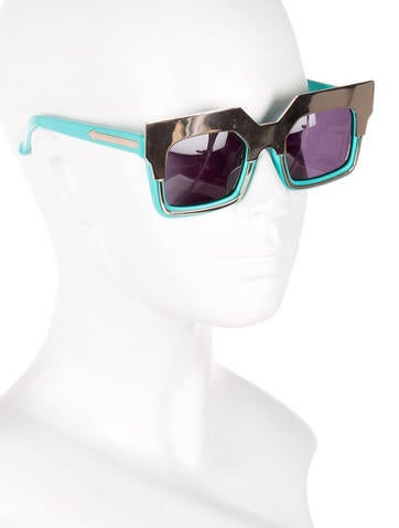 Tinted Square Sunglasses w/ Tags
