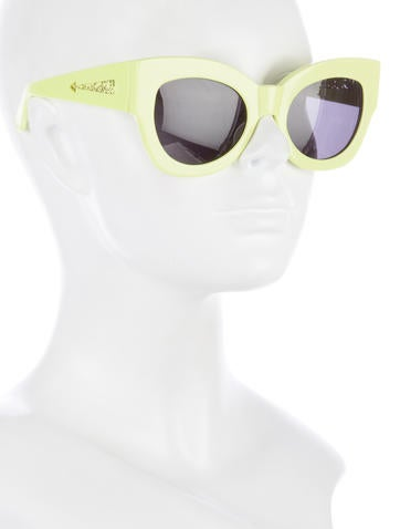 Tinted Cat-Eye Sunglasses