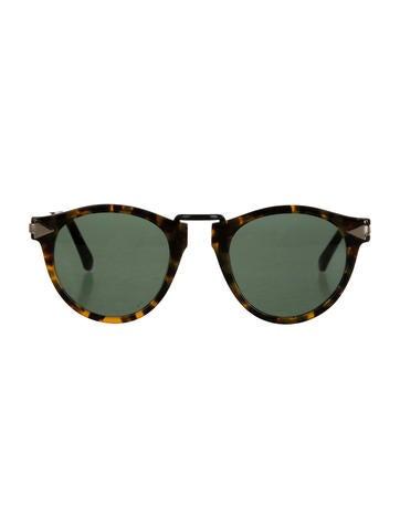 Helter Skelter Round Sunglasses