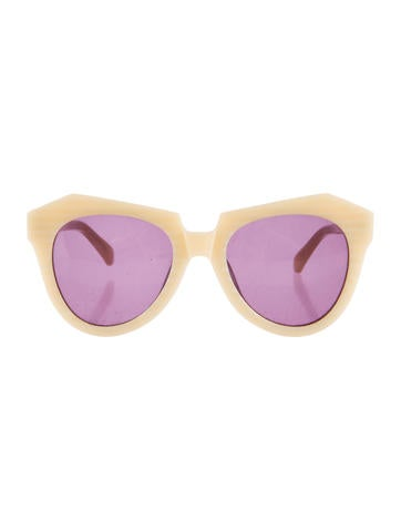 Number One Oversize Sunglasses
