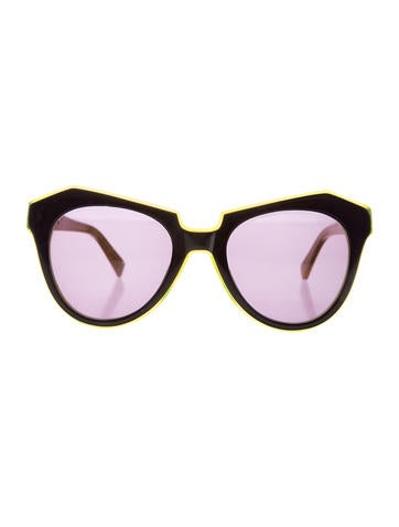 Number One Cat-Eye Sunglasses