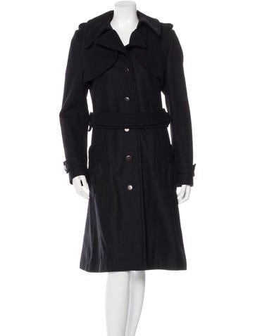 Karen Walker Wool Long Coat