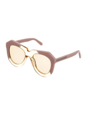 One Splash Oversize Sunglasses