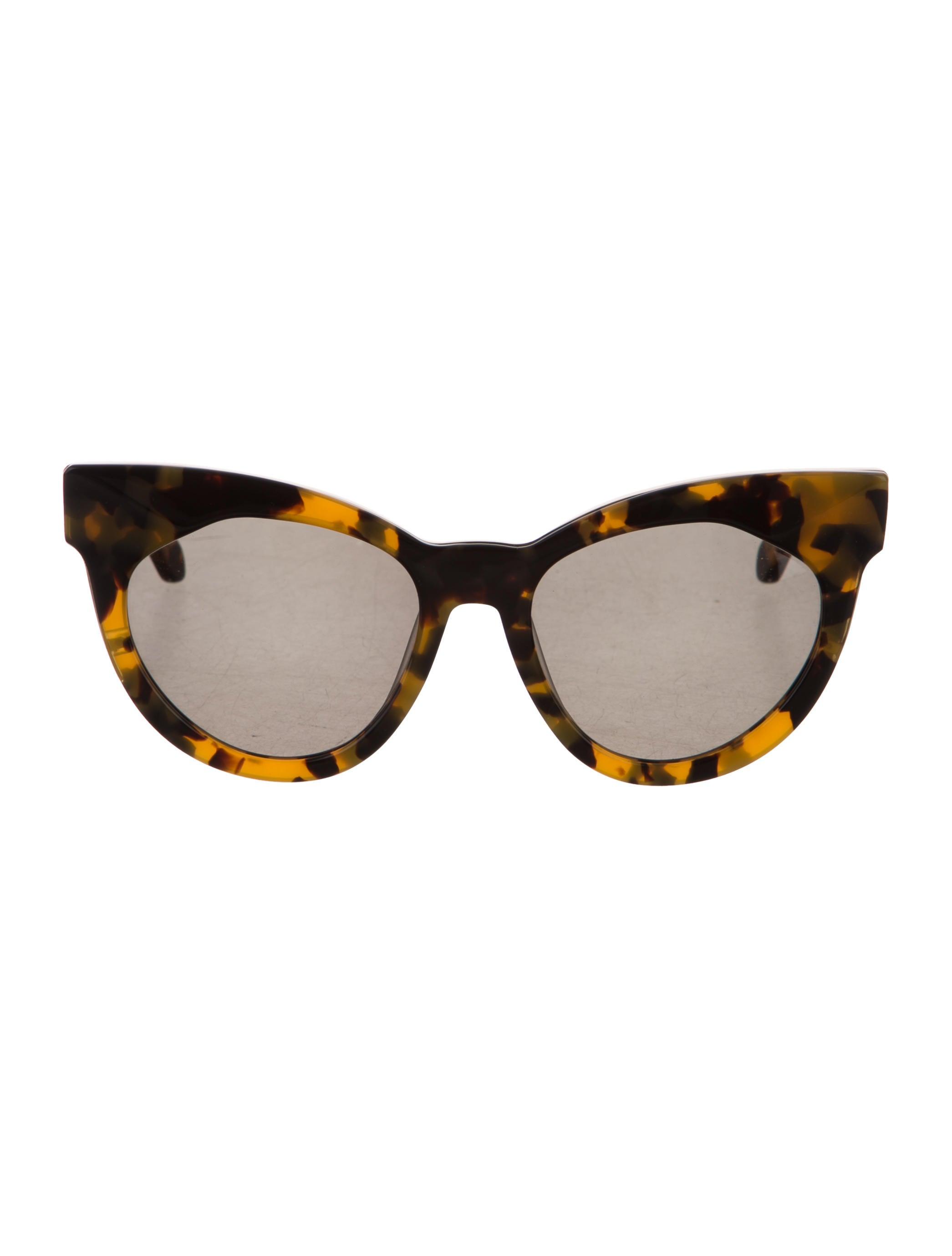 f22efaeadf3 Karen Walker Starburst Cat-Eye Sunglasses - Accessories - KAR21125 ...