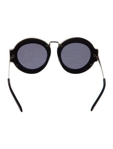 Maze Round Sunglasses