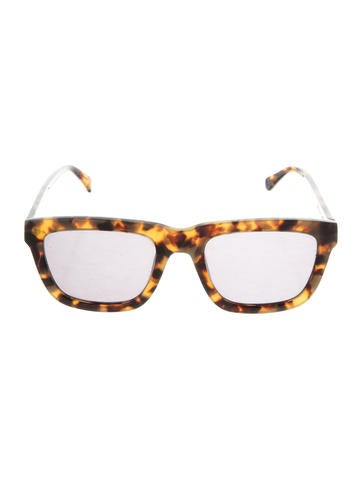 Karen Walker Deep Freeze Tinted Sunglasses None