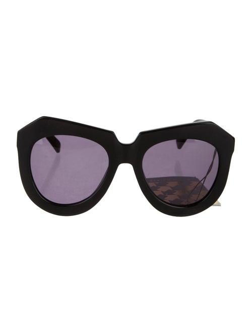 32bcc4fb831 Karen Walker One Worship Round Sunglasses - Accessories - KAR22260 ...