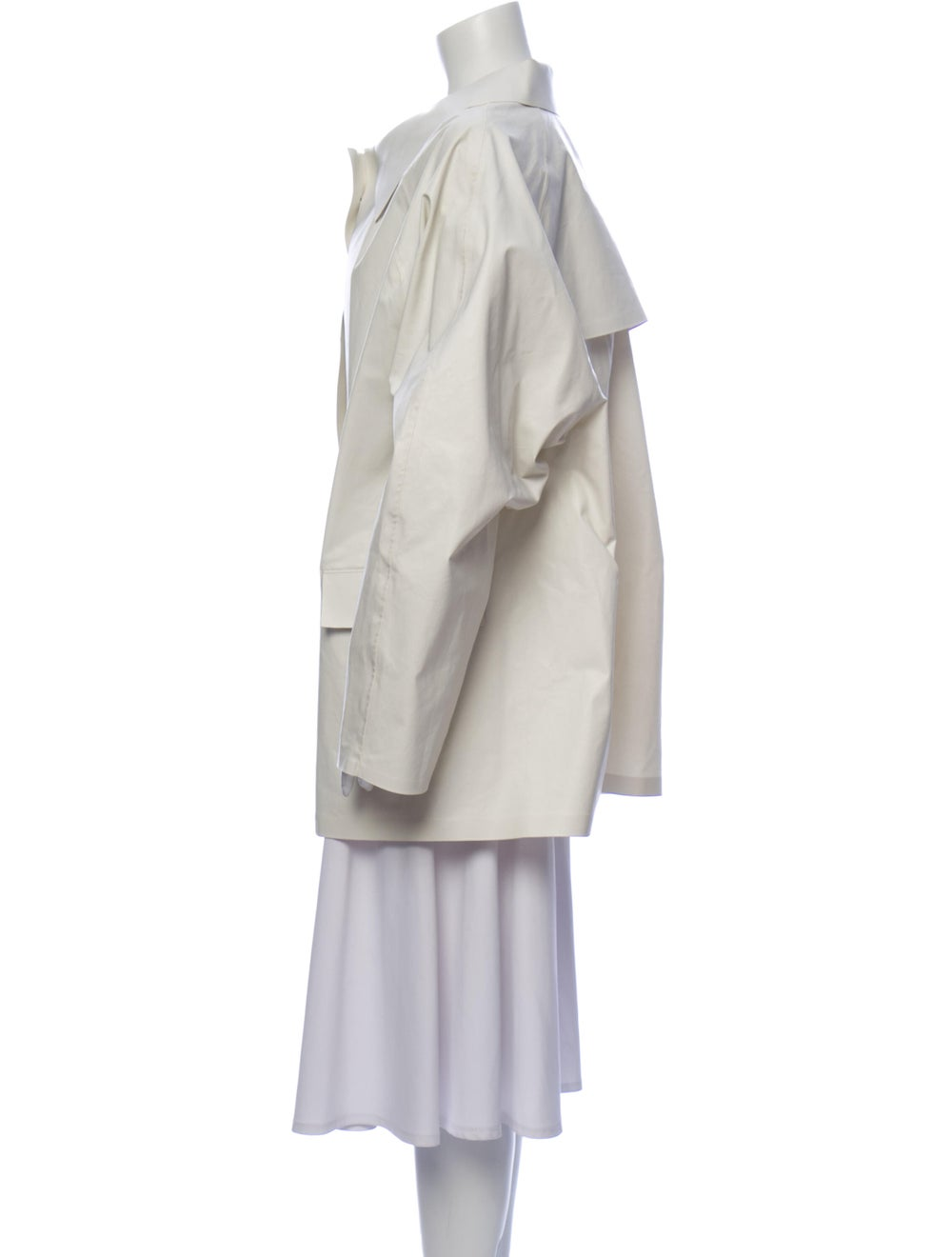 Kassl Rain Coat w/ Tags White - image 2
