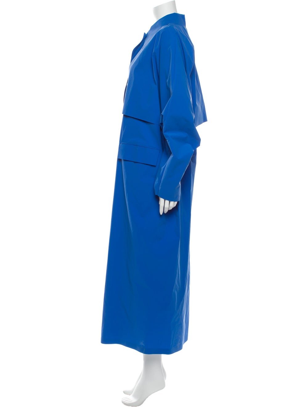 Kassl Trench Coat Blue - image 2