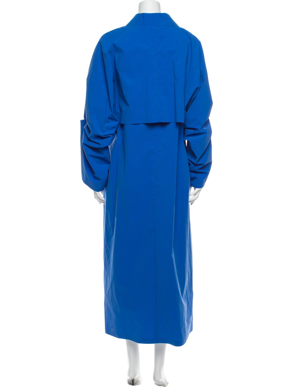 Kassl Trench Coat Blue - image 3