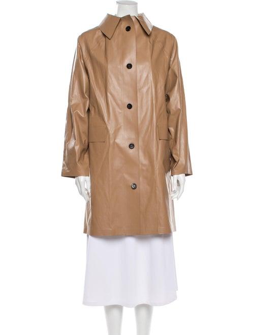 Kassl Trench Coat Brown