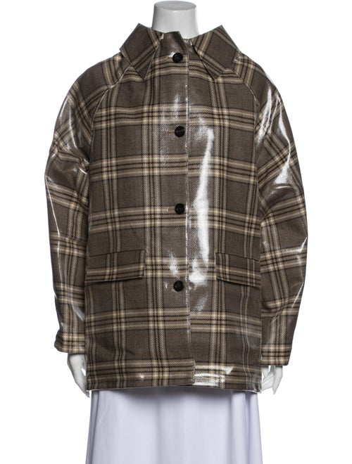 Kassl Plaid Print Jacket w/ Tags