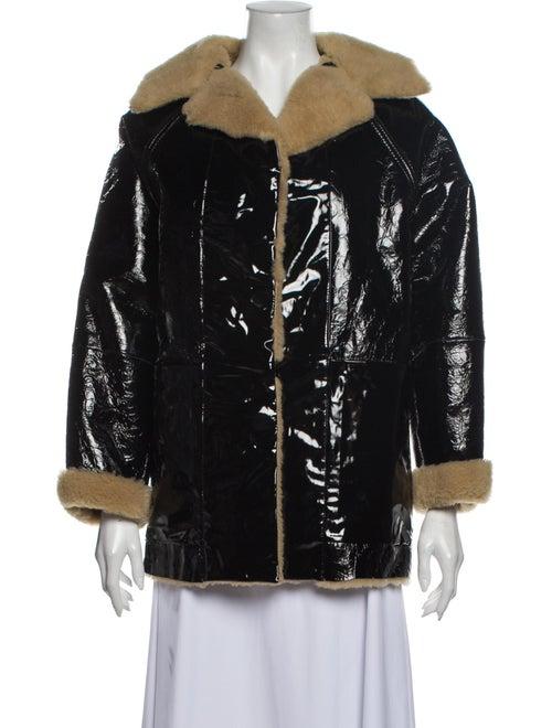 Kassl Shearling Fur Jacket w/ Tags Black