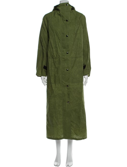 Kassl Trench Coat Green