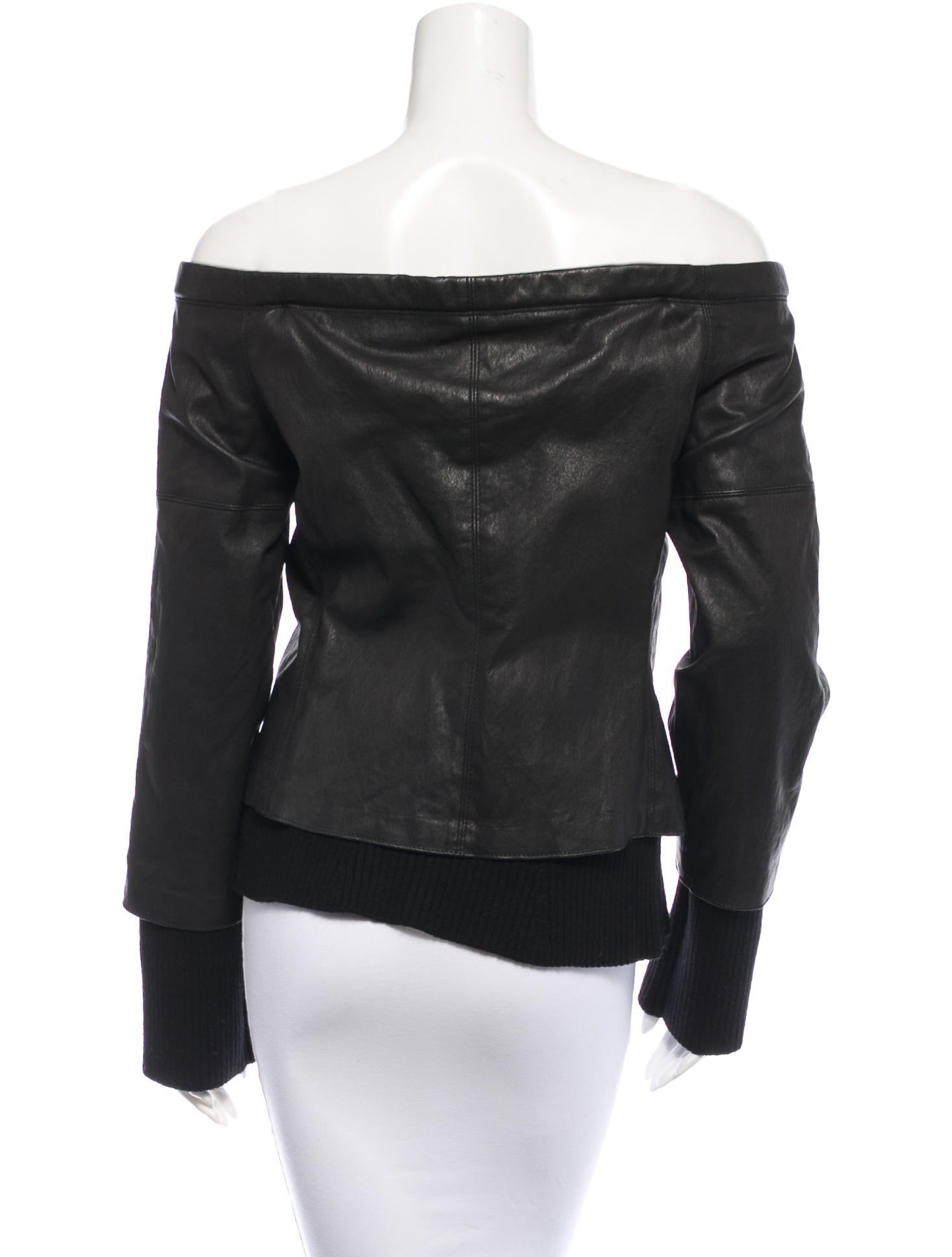 Kaufmanfranco leather wool top clothing kau20687 the for Best wool shirt jackets