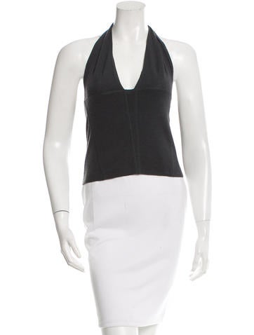 Kaufmanfranco Sleeveless Cashmere Top None