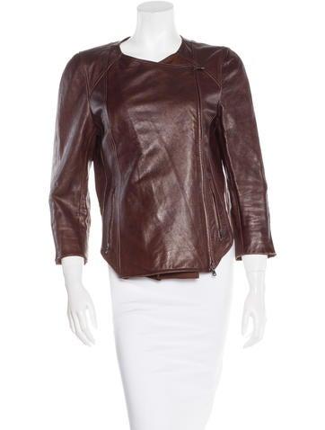 Kaufmanfranco Paneled Leather Jacket None