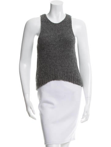 Kaufmanfranco Knit High-Low Top None