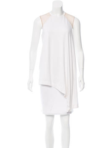 Kaufmanfranco Mesh-Paneled Asymmetrical Top w/ Tags None
