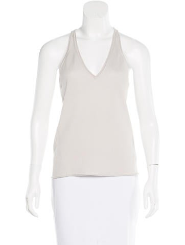Kaufmanfranco Wool Sleeveless Top None