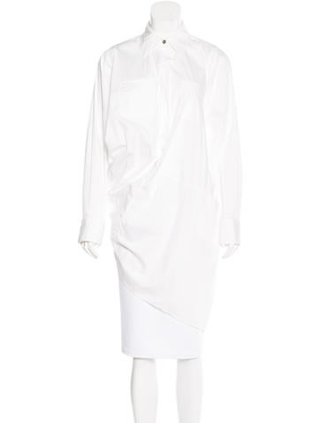 Kaufmanfranco Draped Button-Up Top None