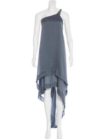 Kaufmanfranco Silk One-Shoulder Dress None