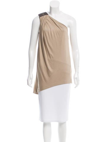 Kaufmanfranco Draped One-Shoulder Top
